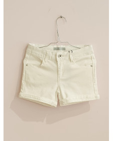 SHORT DE NIÑA GUESS BLANCO