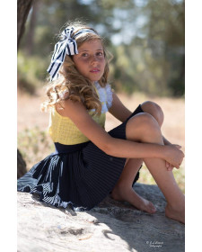 GIRL BLOUSE AND SKIRT PINOCHO SANCHEZ DE LA VEGA