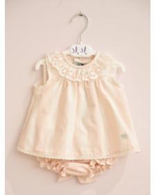 7f235bb43 Vestidos de recién nacido y bebe de 0 hasta 36 meses, - Vagaluz