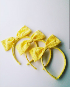 GIRLS YELLOW DIADEM