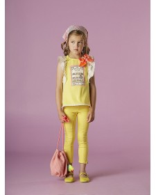 GIRLS YELLOW T-SHIRT NANOS