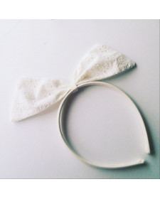 GIRLS WHITE DIADEM