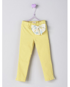 GIRL YELLOW TROUSERS NANOS