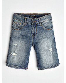 BOY DENIM SHORTS GUESS