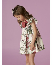 GIRL DRESS FLOWERS NANOS