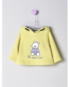 BABY BOY YELLOW SWEATSHIRT NANOS