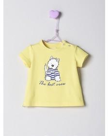 BABY BOY YELLOW T-SHIRT NANOS