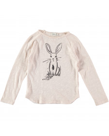 GIRL LOU RABBIT T-SHIRT BUHO