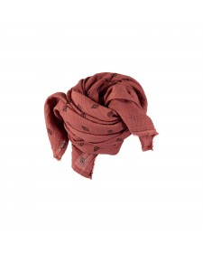 UNISEX FOULARD LEAVES BUHO