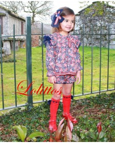 BABY GIRL BLOUSE WITH BOTTOM LOLITTOS CACHEMIR