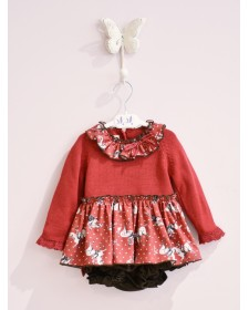 BABY GIRLS BLOUSE AND BLOOMERS LOLITTOS BABIECA