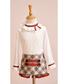 GIRL SHORT AND BLOUSE LOLITTOS BABIECA