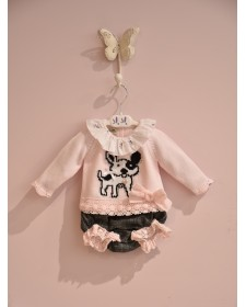 BABY GIRLS SWEATER AND BLOOMERS LOLITTOS