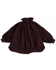 GIRL OLIVIA BURGUNDY BLOUSE THE NEW SOCIETY
