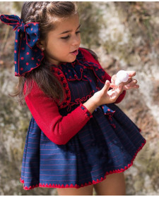 GIRL DRESS AND BOLERO LA MARTINICA