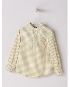 YELLOW SQUARE SHIRT BY NANOS
