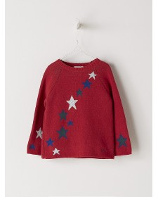 BOY RED SWEATER NANOS