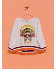 GIRLS FRIDA SWEATSHIRT LUNARES EN MAYO