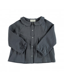 GIRL ANTHRACITE BLOUSE PIUPIUCHICK