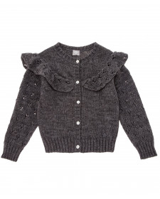 KNITTED CARDIGAN TOCOTO VINTAGE GREY