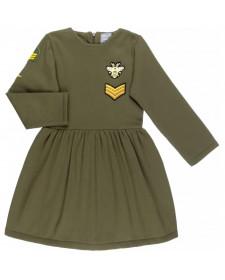 GIRLS GREEN DRESS MON PETIT BOMBON