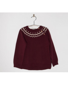 BOYS GARNET SWEATER JOSE VARON
