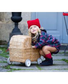 BABY GIRL DRESS AND KNICKERS KIDS CHOCOLATE TARTAN