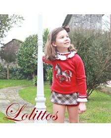 GIRL SHORT AND BLOUSE LOLITTOS BABIECA