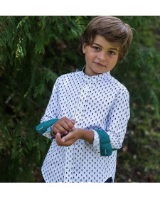 BOY SHIRT LA MARTINICA MENTA