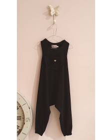 GIRL BLACK JUMPSUIT JACARANDA