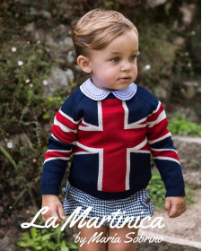 BOY BUCKINHMAN SWEATER LA MARTINICA
