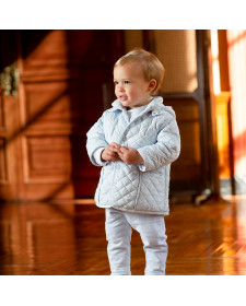 BABY BOYS BLUE COAT TUTTO PICCOLO