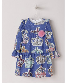 GIRLS BLUE DRESS NANOS