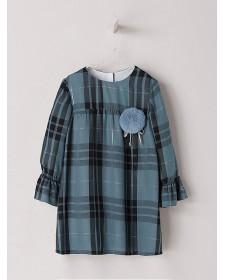 GIRL BLUE DRESS NANOS