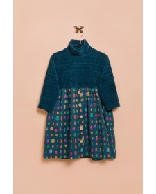 GIRLS BEETLE DRESS LUNARES EN MAYO