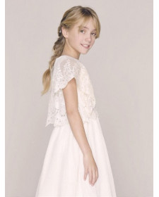NANOS GIRL'S DRESS COMMUNION BAMBULA