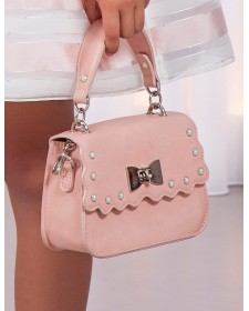 GIRL PINK HANDBAG ABEL AND LULA