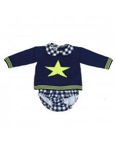 BABY BOY 2 PIECES LOLITTOS STAR