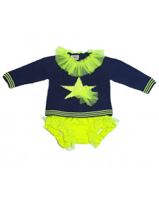 BABY GIRL 2 PIECES LOLITTOS STAR