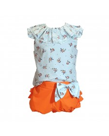 GIRL 2 PIECES LOLITTOS JARDIN