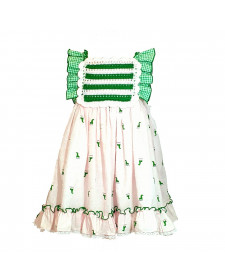 GIRL PINK DRESS GIRAFFE LOLITTOS