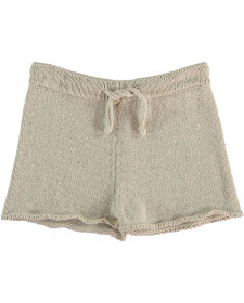 GIRLS BEIGE SHORT THE NEW SOCIETY