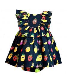 GIRLS DRESS AND BLOOMERS MON PETIT BOMBON FRUITS