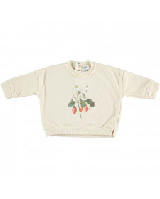 STRAWBERRY PLANT RAWING SWEATSHIRT TOCOTO