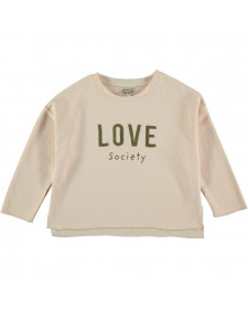 SWITSHIRT LOVE SHELL THE NEW SOCIETY