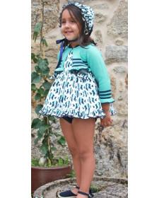 GIRL BLUE CARDIGAN PECERA