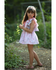 GIRL DRESS EIFFEL DIVERDRESS