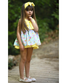 GIRL DRESS DIVERDRESS ICE CREAM