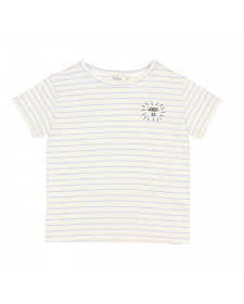 LEONARDO STRIPES COTTON T SHIRT BUHO