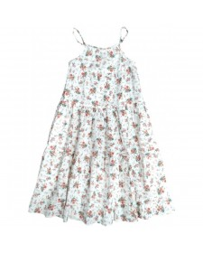 GIRLS FLOWERS DRESS TOCOTO VINTAGE